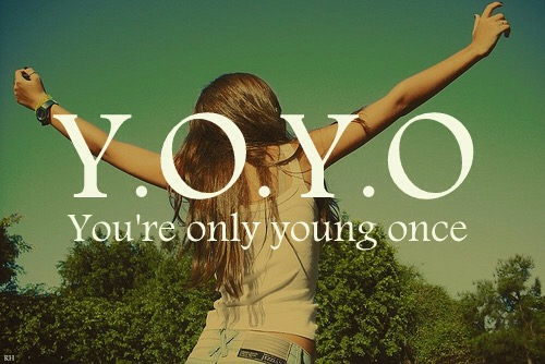 In The Days of YourYouth.